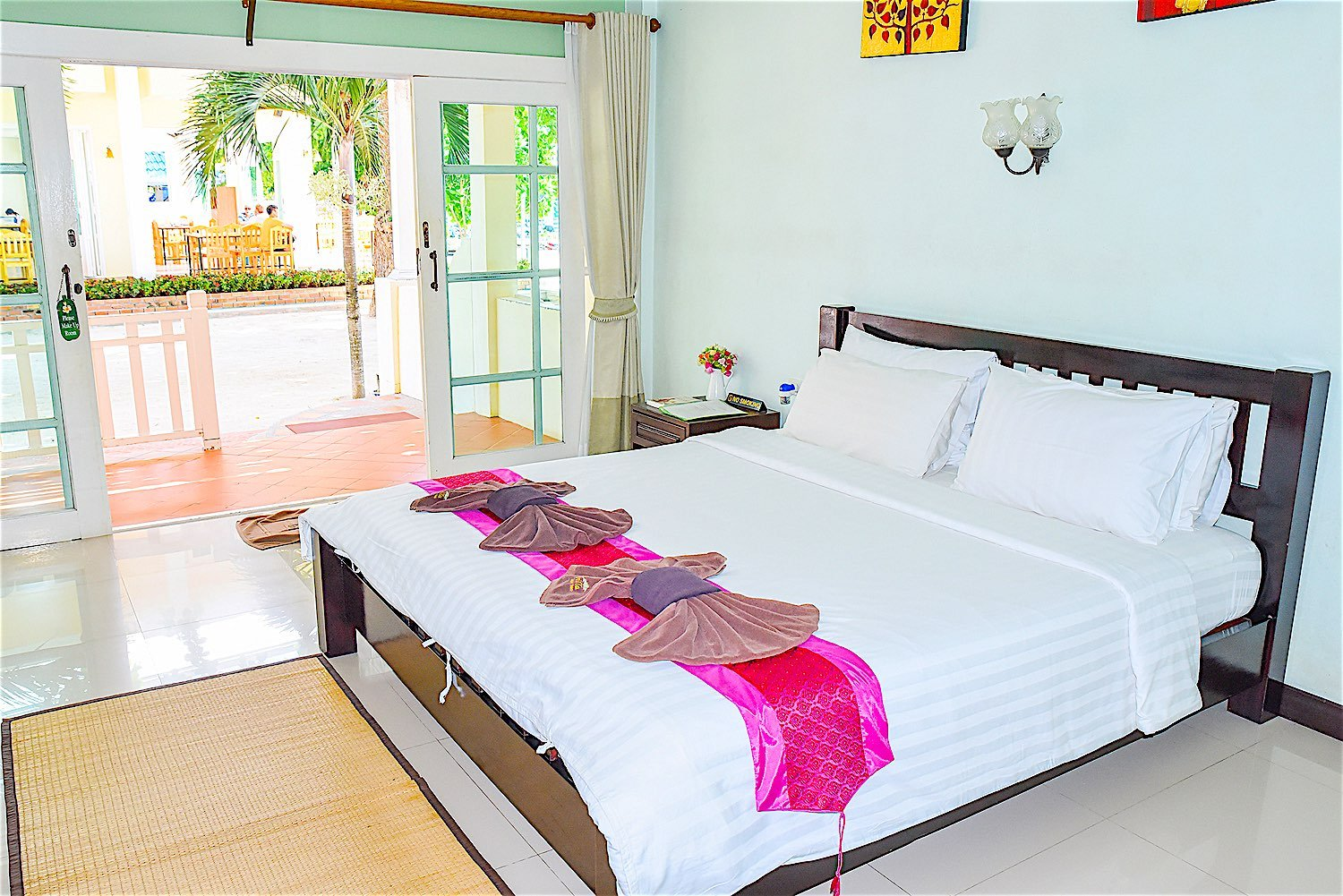 anandavilla.com superior room location air conditioned koh tao